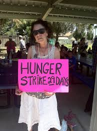 cynthia p day 29 hunger strike